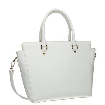 Biela dámska kabelka bata, biela, 961-1845 - 13