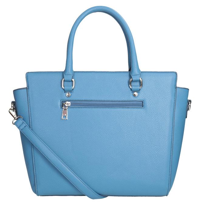 Modrá dámska kabelka bata, 961-9845 - 16
