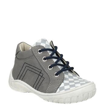 Detská členková obuv bubblegummers, šedá, 111-2626 - 13