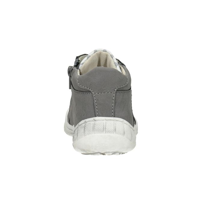 Detská členková obuv bubblegummers, šedá, 111-2626 - 16