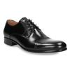 Čierne kožené Derby poltopánky bata, čierna, 824-6863 - 13