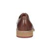 Kožené ležérne poltopánky hnedé bata, hnedá, 826-3853 - 16