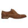 Oxford poltopánky z brúsenej kože bata, hnedá, 823-3618 - 26
