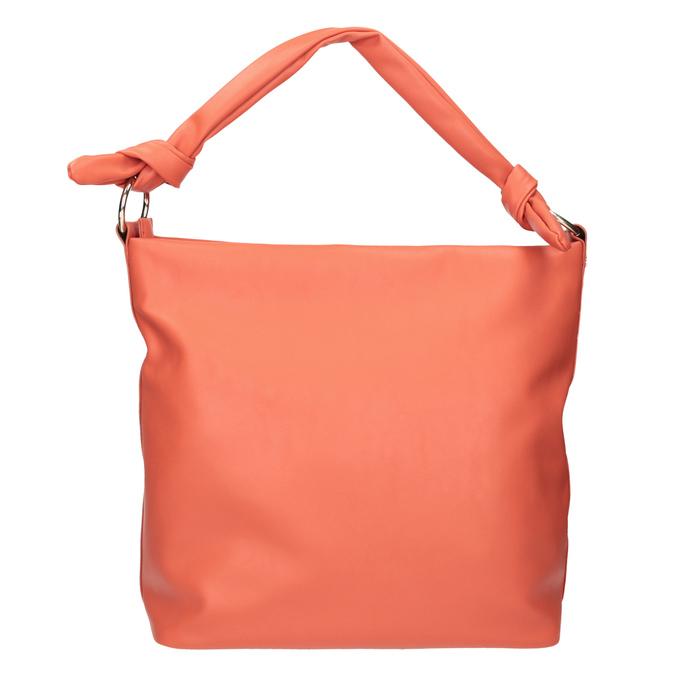 Dámska kabelka v Hobo štýle bata, červená, 961-5843 - 26