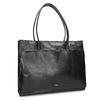 Kožená dámska kabelka royal-republiq, čierna, 964-6066 - 13