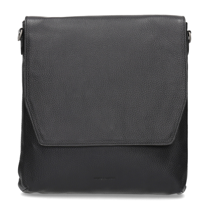 Kožená Crossbody taška royal-republiq, čierna, 964-6093 - 26