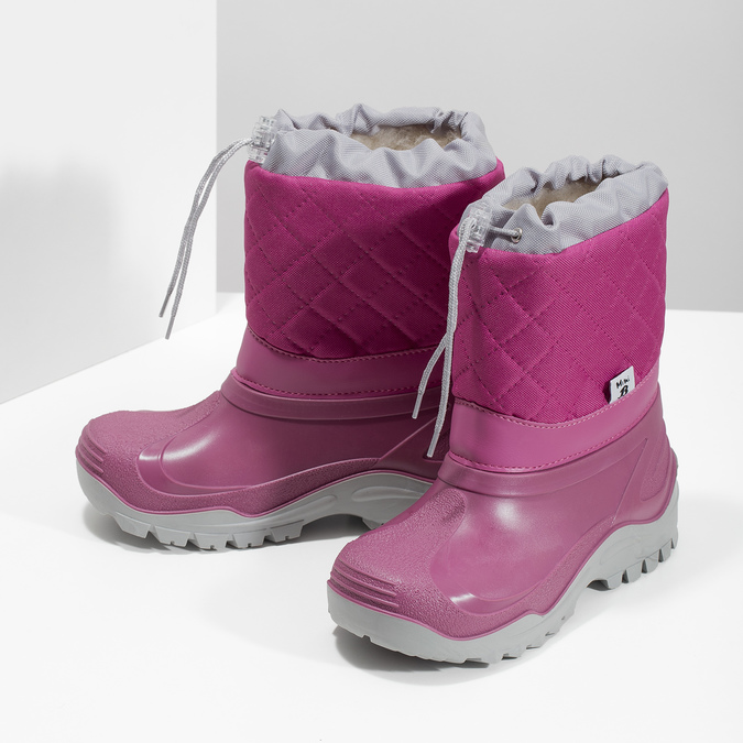 Dievčenské ružové snehule mini-b, 392-5201 - 16