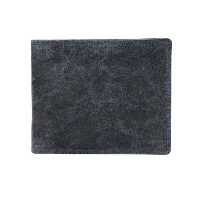 Pánska modrá kožená peňaženka bata, 944-9207 - 26