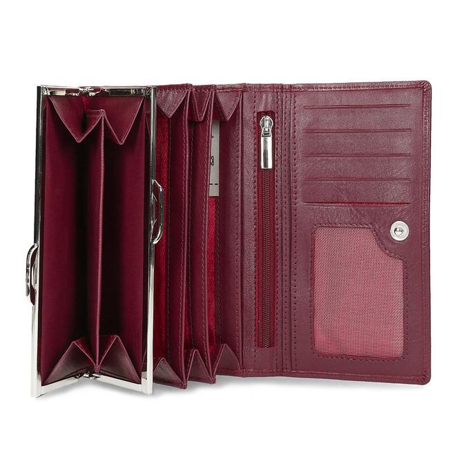 Kožená dámska peňaženka bata, červená, 944-5205 - 15