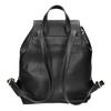Čierny batoh s pútkom bata, čierna, 961-6858 - 16