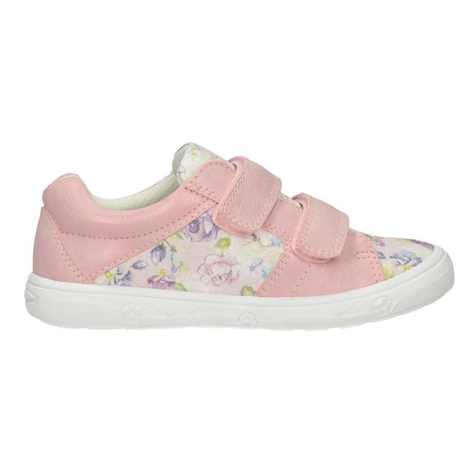 Ružové dievčenské tenisky so vzorom mini-b, 221-5215 - 26
