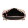 Crossbody kabelka s prešitím na klope bata, ružová, 961-9826 - 15