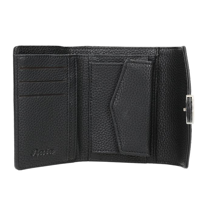 Dámska čierna peňaženka bata, čierna, 941-6213 - 15