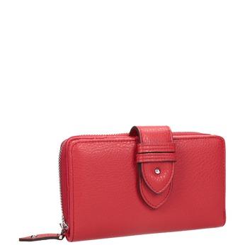 Červená dámska peňaženka bata, červená, 941-5160 - 13