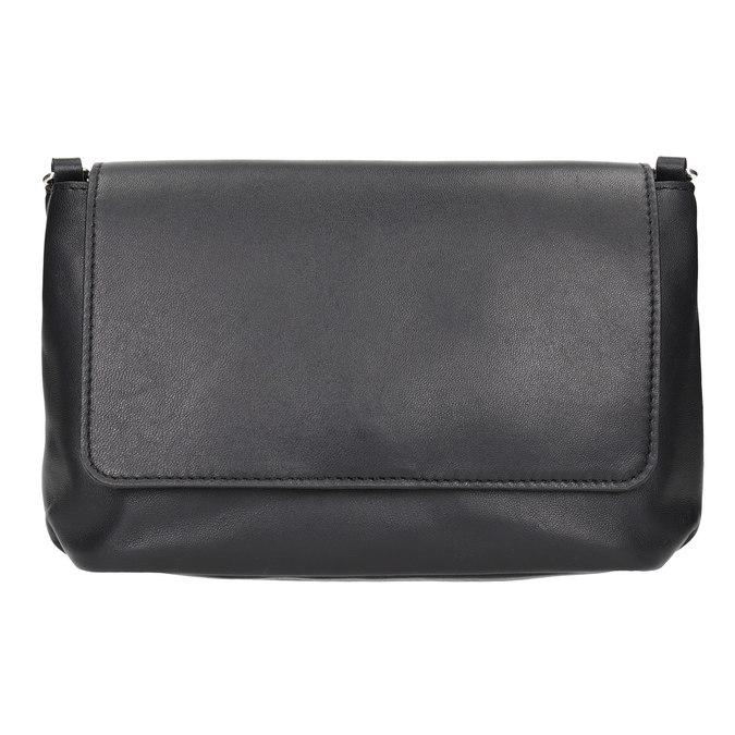 Kožená dámska Crossbody kabelka bata, čierna, 964-6291 - 26