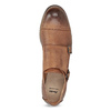 Dámske Monk Shoes bata, hnedá, 521-4609 - 17