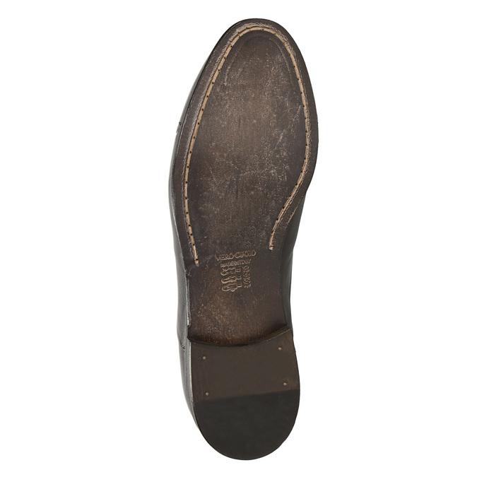 Celokožené Oxford poltopánky bata, hnedá, 826-4826 - 19