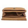 Crossbody kabelka s výšivkou bata, hnedá, 969-4686 - 15