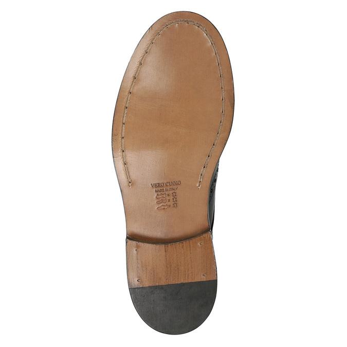 Celokožené pánske poltopánky bata, 826-9828 - 19