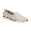 Dámske kožené Slip-on topánky na výraznej podrážke flexible, 536-5603 - 13