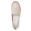 Dámske kožené Slip-on topánky na výraznej podrážke flexible, 536-5603 - 17