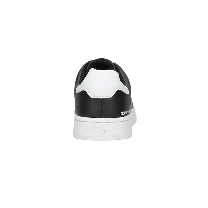 Pánske čierne tenisky north-star, čierna, 841-6611 - 15