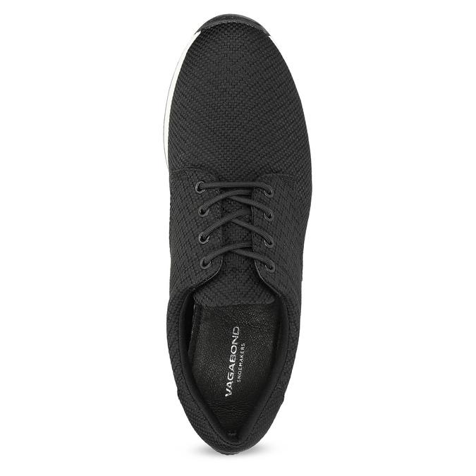 Ležérne čierne tenisky dámske vagabond, čierna, 629-6161 - 17