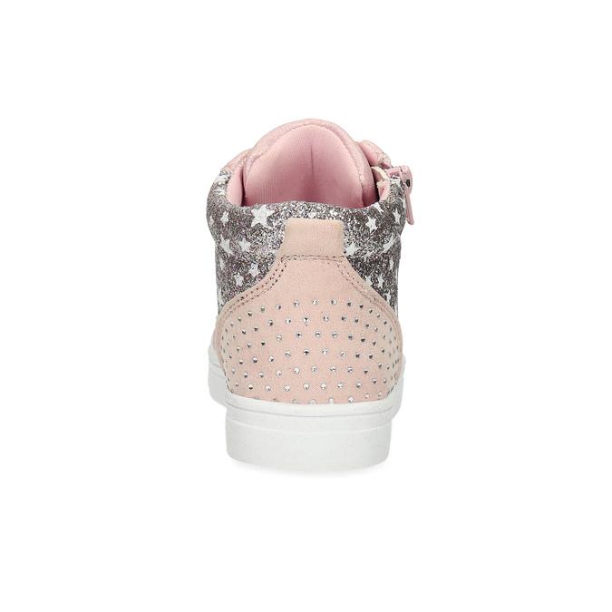 Ružové členkové tenisky s kamienkami mini-b, ružová, 229-5107 - 15