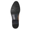Pánske hnedé kožené Derby poltopánky bata, hnedá, 826-3983 - 17