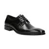Čierne kožené Derby poltopánky bata, čierna, 824-6981 - 13