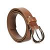 Dámsky hnedý kožený opasok bata, hnedá, 954-3202 - 13