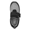Detské tenisky s elastickým remienkom mini-b, čierna, 319-6152 - 15