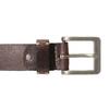Hnedý pánsky kožený opasok bata, hnedá, 954-4205 - 26