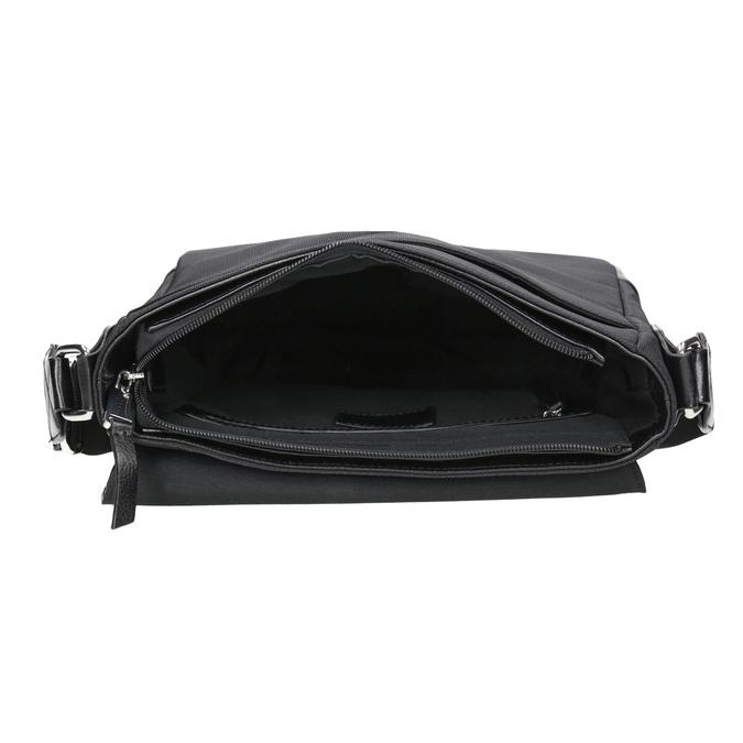 Pánska taška v štýle Crossbody bata, čierna, 961-6832 - 15