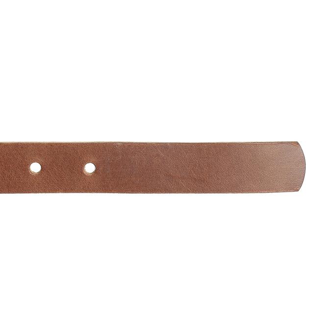 Dámsky hnedý kožený opasok bata, hnedá, 954-3202 - 16