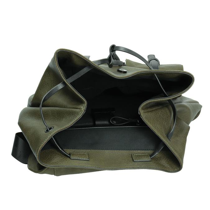 Dámsky zelený batoh bata, 961-7833 - 15