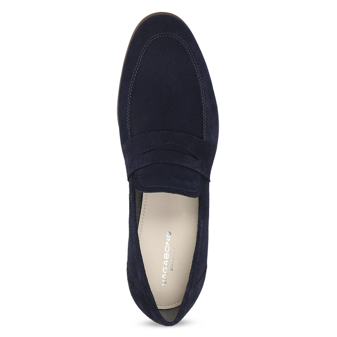 Modré mokasíny v štýle Penny Loafers vagabond, modrá, 813-9053 - 17