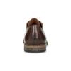 Pánske kožené poltopánky so zdobením bata, hnedá, 826-4927 - 15