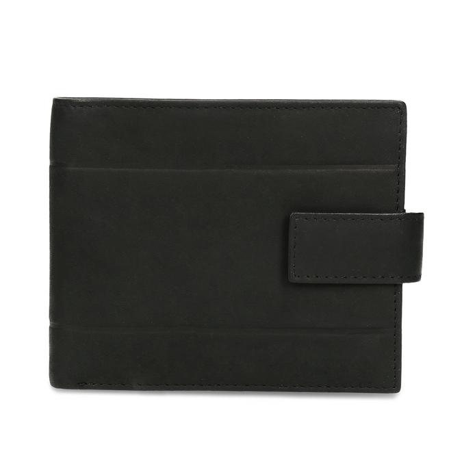 Pánska kožená peňaženka bata, čierna, 944-6210 - 26
