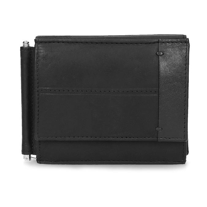 Pánska kožená peňaženka bata, čierna, 944-6209 - 26