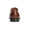 Kožené pánske poltopánky s prešitím bata, hnedá, 826-4995 - 16