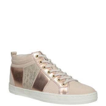Dámske členkové tenisky bata, ružová, 546-5608 - 13