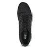 Čierne pánske tenisky v športovom dizajne adidas, čierna, 809-6101 - 17