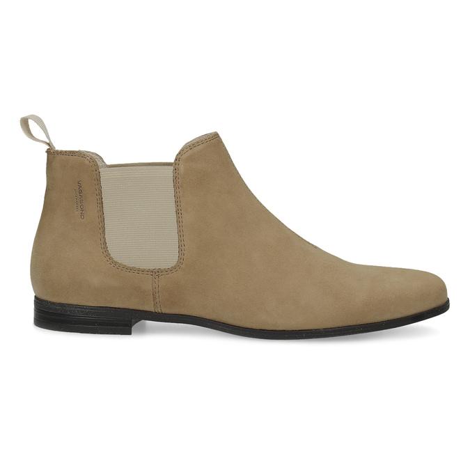 Kožené členkové Chelsea Boots vagabond, hnedá, 513-4098 - 19