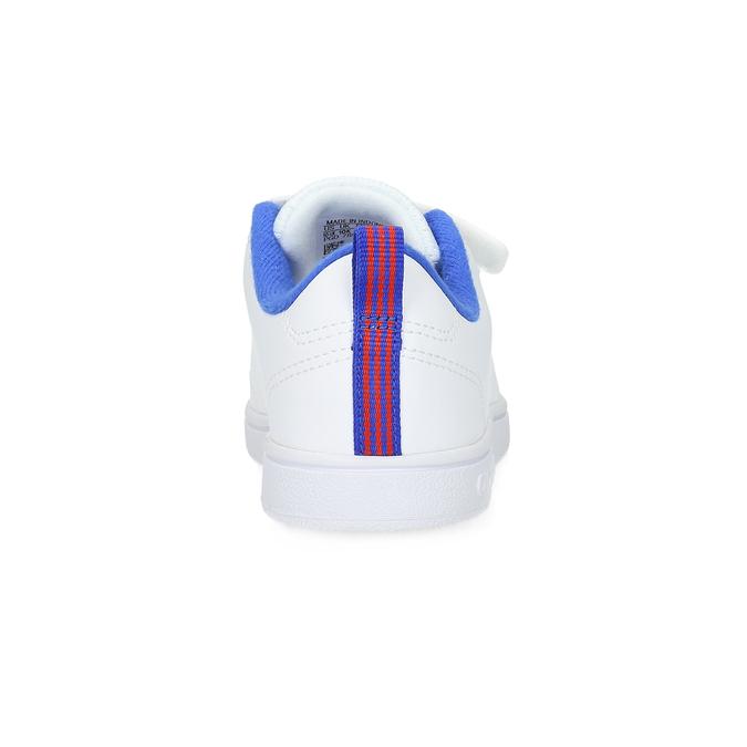 Biele detské tenisky na suchý zips adidas, biela, 301-1968 - 15