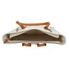 Krémová kabelka s ozdobnými zipsami bata, biela, 961-1840 - 15