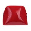 Červená lakovaná kabelka bata, červená, 961-5850 - 26