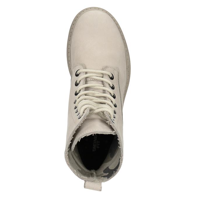 Kožená dámska členková obuv weinbrenner, 596-4693 - 17