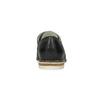 Kožené dámske poltopánky bata, čierna, 526-6650 - 15