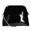 Lakovaná čierna kabelka bata, čierna, 961-6850 - 16